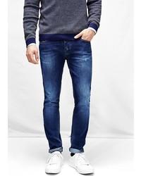 Mango Outlet Outlet Slim Fit Dark Tim Jeans