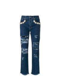 Forte Dei Marmi Couture Ripped Jeans