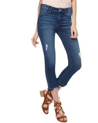 Robbie release hem ripped crop jeans medium 4423683