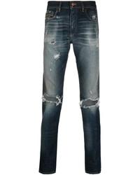 Diesel Slash Knee Slim Fit Jeans