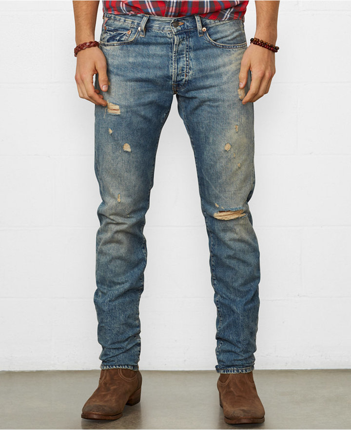 e9ed031f0e8 Denim & Supply Ralph Lauren Slim Fit Oceanside Jeans, $145 | Macy's |  Lookastic.com