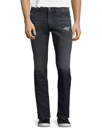 J Brand Tyler Faded Distressed Denim Jeans