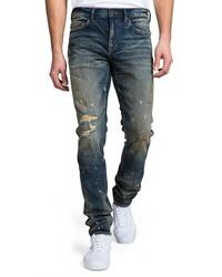 PRPS Windsor Ripped Slim Fit Jeans