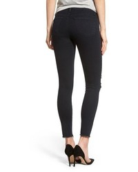 J Brand 8227 Destroyed Crop Skinny Ankle Jeans