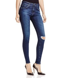 AG Jeans Ag Farrah High Rise Skinny Jeans In Paradox