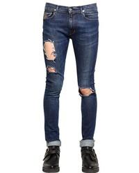 April 77 16cm Joey Ripped Stretch Denim Jeans