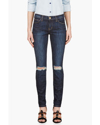 Current/Elliott Blue The Stiletto Jeans