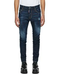 DSQUARED2 Blue Zlatan Ibrahimovi Edition Icon Talent Skater Jeans