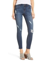 1822 Denim Decon Distressed Skinny Jeans