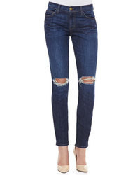 Current/Elliott Destroyed Skinny Ankle Jeans Bedford