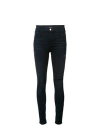 J Brand Destroyed Skinny Jeans