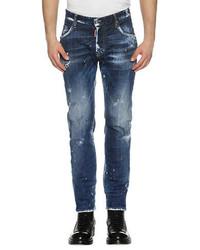 Distressed skater skinny jeans day dreams medium 3745636