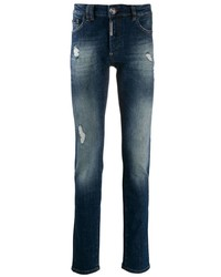 Philipp Plein Distressed Skinny Jeans