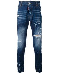 Distressed skinny jeans medium 3762302