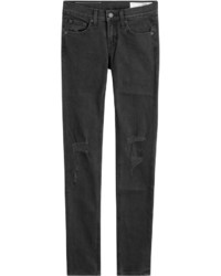 Rag & Bone Distressed Skinny Jeans