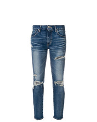 Moussy Vintage Distressed Skinny Jeans