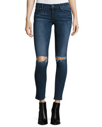 DL1961 Dl 1961 Premium Denim Emma Ripped Power Legging Jeans Barbwire