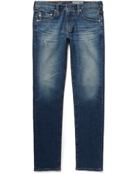 AG Jeans Dylan Skinny Fit Distressed Denim Jeans