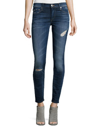 True Religion Halle Super Skinny Jeans Dark Authentic Indigo