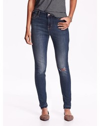 Old Navy High Rise Rockstar Distressed Jeans
