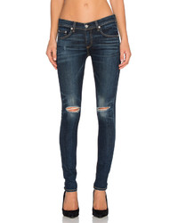 Rag & Bone Jean Slim Distressed Skinny