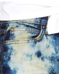 Joe's Jeans Joes Mid Rise Acid Wash Skinny Jeans Jolen Wash