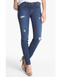 Jessica Simpson Kiss Me Deconstructed Skinny Jeans