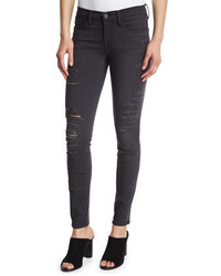 Frame Le Skinny Satine Distressed Jeans St Quintin Shred