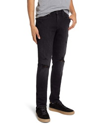 Frame Lhomme Ripped Skinny Fit Jeans