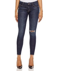 Mother Looker Distressed Skinny Jeans