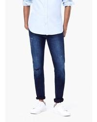 Mango Man Skinny Navy Jude Jeans