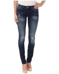 Mavi Jeans Alexa In Deep Ripped Vintage