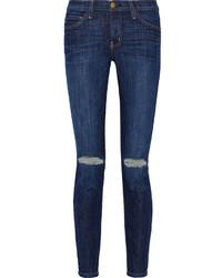 Current/Elliott Mid Rise Skinny Jeans