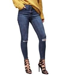 Topshop Moto Jamie Ripped Skinny Jeans
