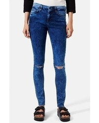 Topshop Moto Leigh Ankle Skinny Jeans