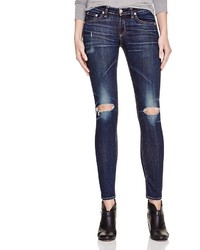 Rag and Bone Rag Bonejean The Skinny Distressed Jeans