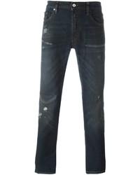 Ripped detail skinny jeans medium 616789