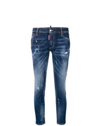 Dsquared2 Runway Cropped Jeans