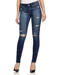 Yummie by Heather Thomson Skinny Jeans In Destroyed Indigo