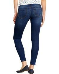 d1fe137dd90 Old Navy The Rockstar Distressed Super Skinny Jeans, $34   Old Navy ...