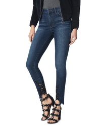 Sam Edelman The Stiletto High Waist Lace Hem Ankle Skinny Jeans