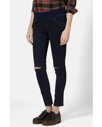 Topshop Jamie Maternity Moto Jeans