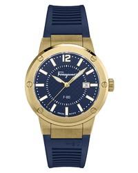 Salvatore Ferragamo F 80 Silicone Watch