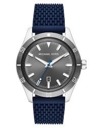 Michael Kors Layton Silicone Watch