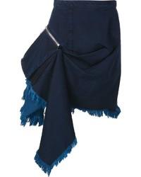 MARQUES ALMEIDA Marquesalmeida Ruffle Side Pencil Skirt