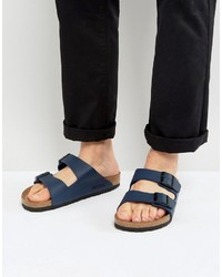 Birkenstock Arizona Sandals In Blue