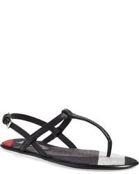 Burberry Ingeldew T Strap Sandal