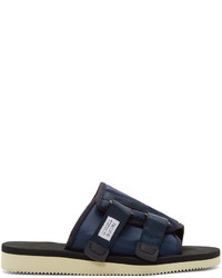 Suicoke Navy Kaw Sandals