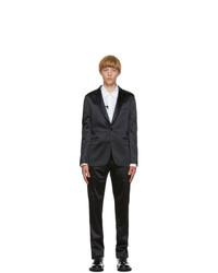 Paul Smith Navy Satin Soho Suit