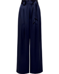Tory Burch Satin Wide Leg Pants